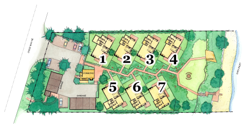 Numbered Site Plan